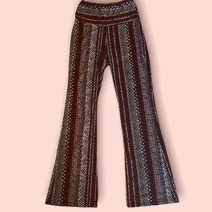Women's flare casual boho lounge pants